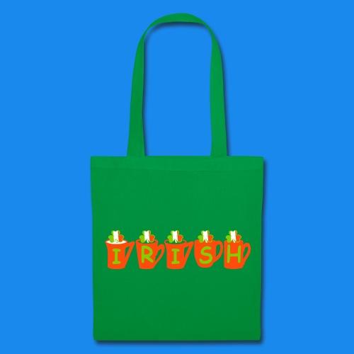 ♥ټ☘Drink Luck-Irish Shamrock Tea Tote Bag☘ټ♥ - Tote Bag