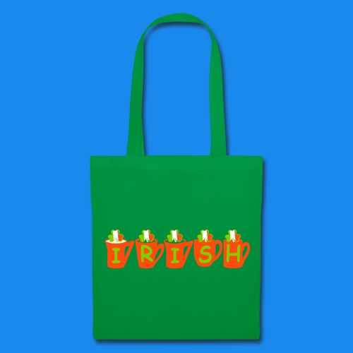 ♥ټ☘Drink Luck-Irish Shamrock Tea Tote Bag☘ټ♥ - Tote Bag