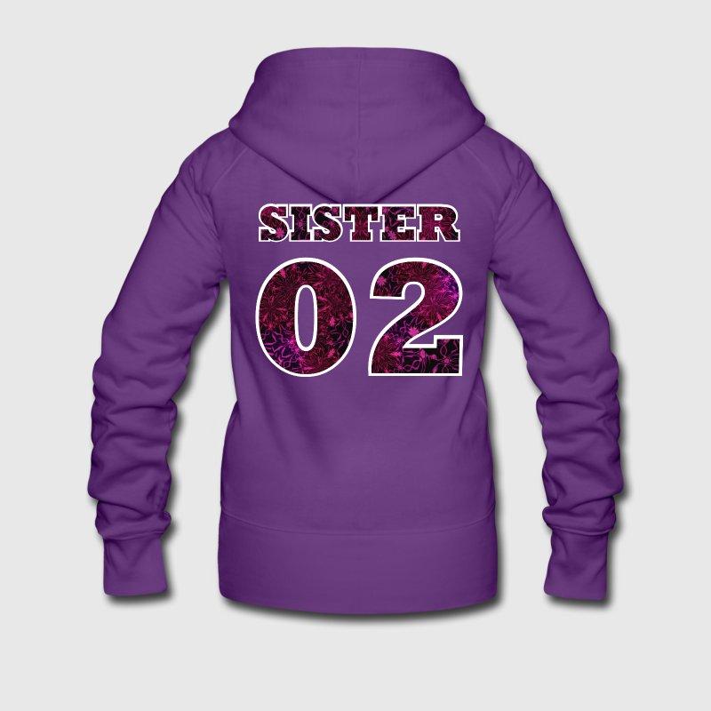 sister 02 kapuzenjacke spreadshirt. Black Bedroom Furniture Sets. Home Design Ideas