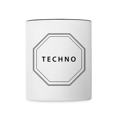 Tasse zweifarbig - Technocrew,Techno
