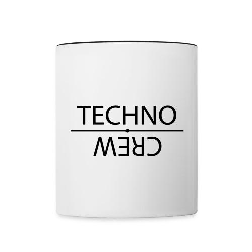 Tasse zweifarbig - Techno,Technocrew