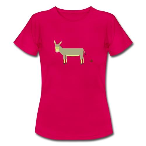 Der Esel Karl-Heinz (ohne Hintergrund) - Frauen T-Shirt