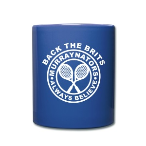 Blue Murraynators Ceramic Mug. - Full Colour Mug