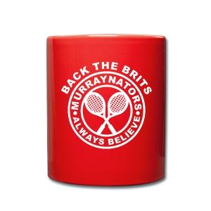 Red Murraynators Ceramic Mug. - Full Colour Mug