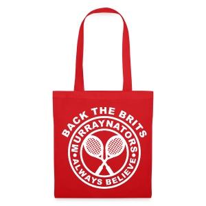 Murraynators Red Tote Bag. - Tote Bag