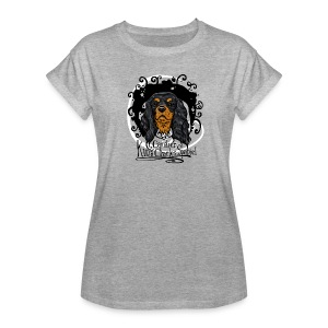 Black&Tan Oversize T-Shirt - Frauen Oversize T-Shirt