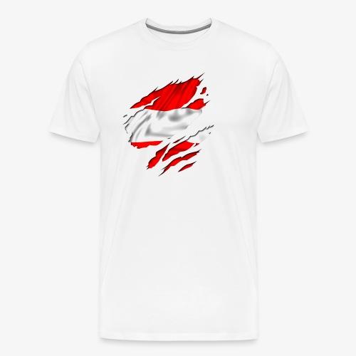 Staudl Österreich T-Shirt - Männer Premium T-Shirt