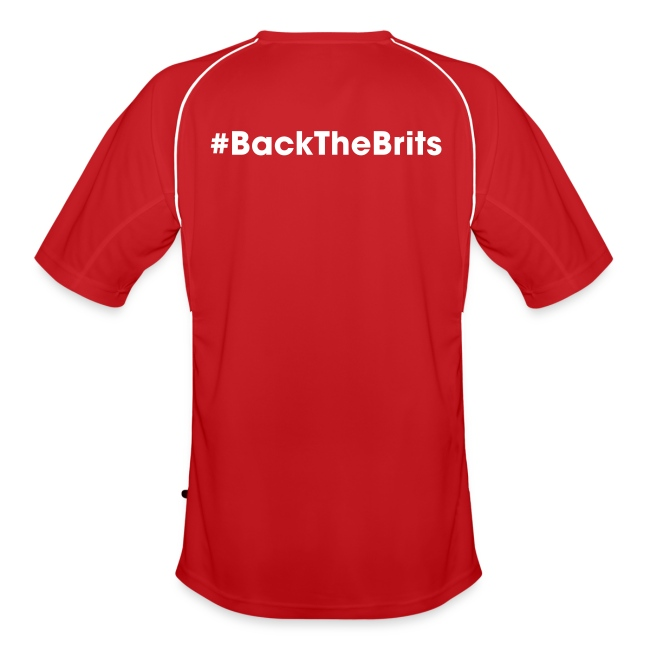 Murraynators - BtB Red V Neck Football Shirt.