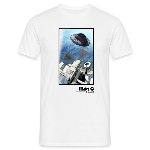 Flying Saucer Adlerflug - T-shirt Homme