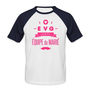 EVG party - T-shirt baseball manches courtes Homme