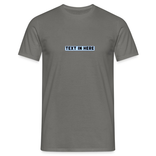 Designer T-shirt - Men's T-Shirt