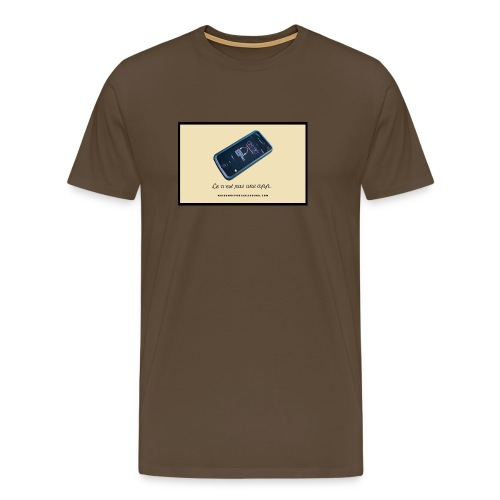The Treachery of Curating Sounds as Museological Objects (Men's T) - Men's Premium T-Shirt