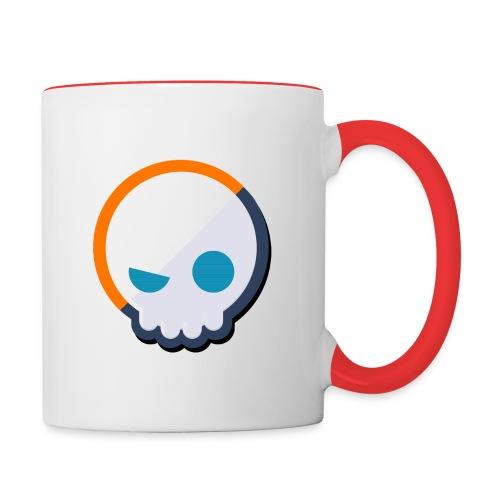 Gnoggin Contrast Mug : white/red - Contrasting Mug