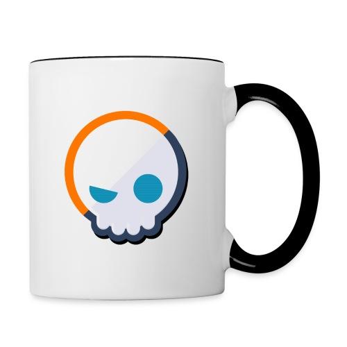 Gnoggin Contrast Mug : white/black - Contrasting Mug