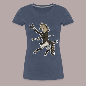 Horse Dressage Dancer - Women's Premium T-Shirt