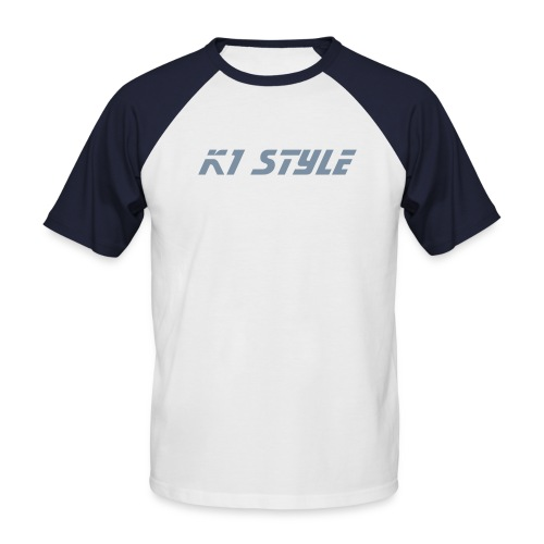 K1 Style - T-shirt baseball manches courtes Homme