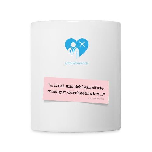 Tasse durchgeblutet - Tasse