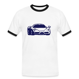 T-shirt Beautiful car. - T-shirt contrasté Homme