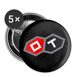 OT-ANSTECKER MIT NADEL, 5er-Pack - Buttons mittel 32 mm