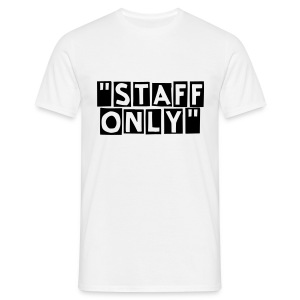 Staff Only face - T-shirt Homme