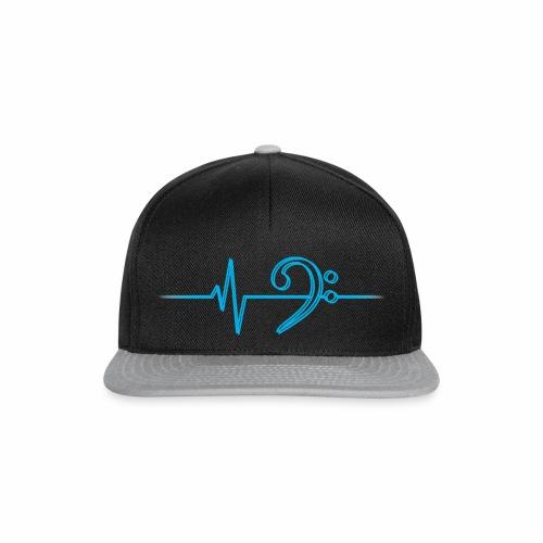 BassHeartBeat Cap Double - Snapback Cap