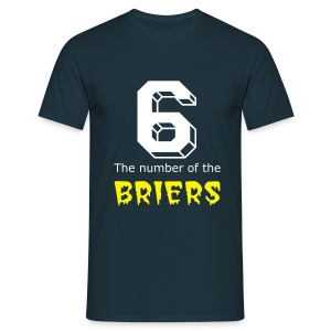 6 the number of the Briers - Men's T-Shirt