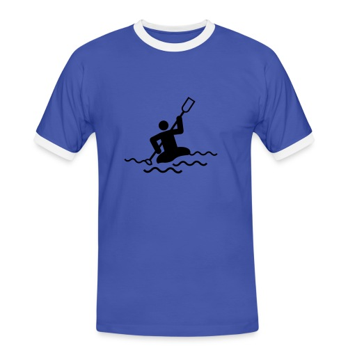 canoe t shirt - Men's Ringer Shirt