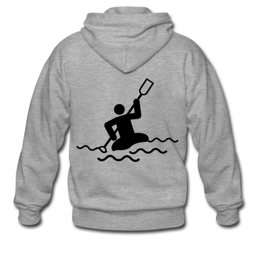 canoe hoody - Men's Premium Hooded Jacket