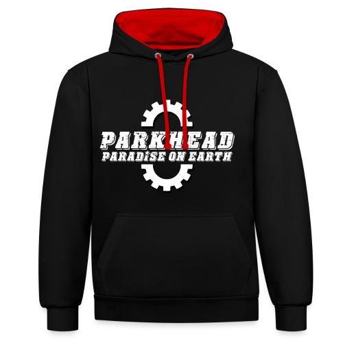 Parkhead - Contrast Colour Hoodie