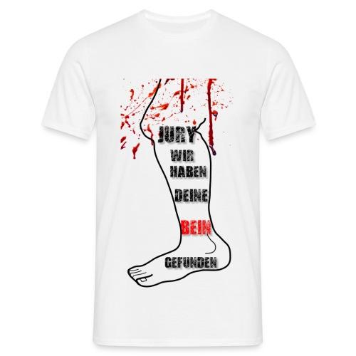 Jury wir haben deine Bein  - Männer T-Shirt