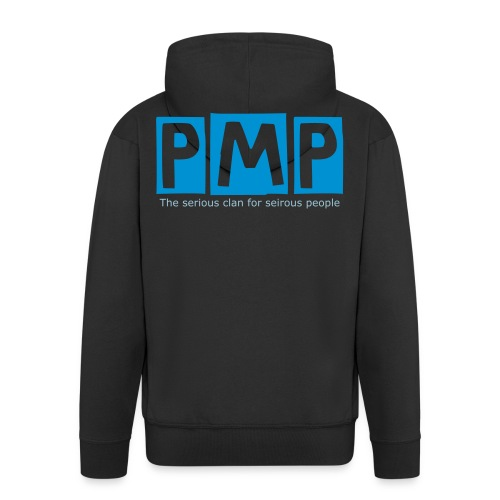 PMP BLUE H00D - Men's Premium Hooded Jacket