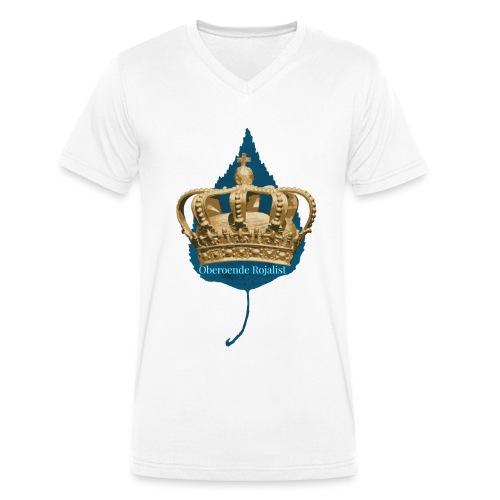 Oberoende Rojalist - Ekologisk T-shirt med V-ringning herr från Stanley & Stella