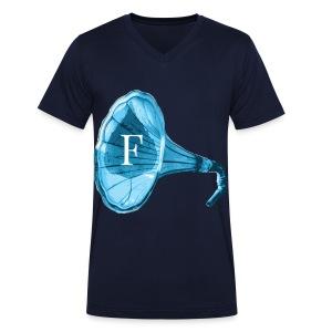 Oberoende Gramofon - Ekologisk T-shirt med V-ringning herr från Stanley & Stella
