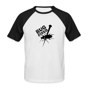 T-shirt Bug Fixed. - T-shirt baseball manches courtes Homme
