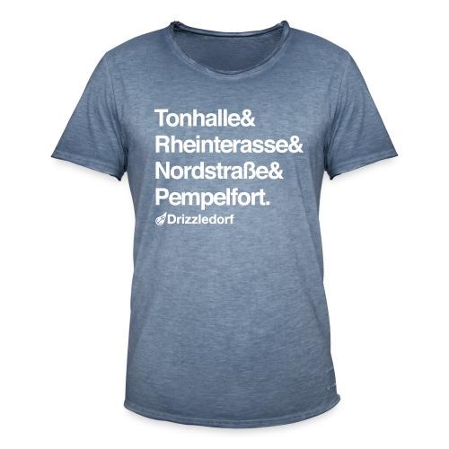 Drizzledorf Pempelfort Vintage Tee - Männer Vintage T-Shirt