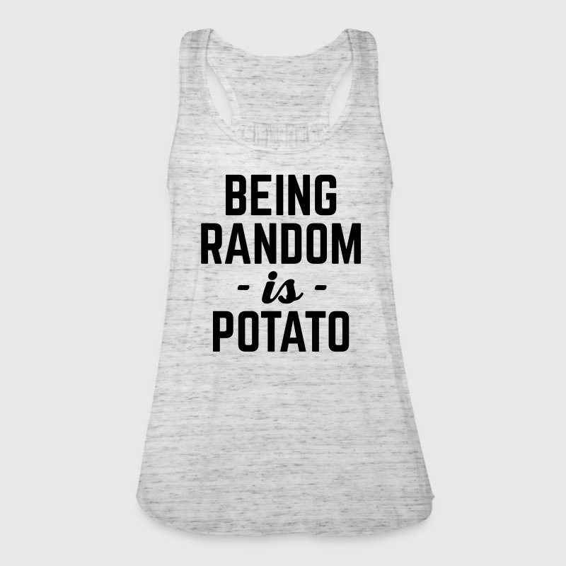 Being Random Funny Quote Tops - Women's Tank Top by Bella