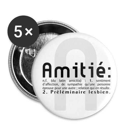 AMitié  - Badge petit 25 mm