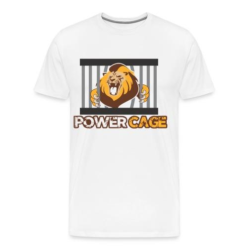 Power Cage Herren Shirt - Männer Premium T-Shirt