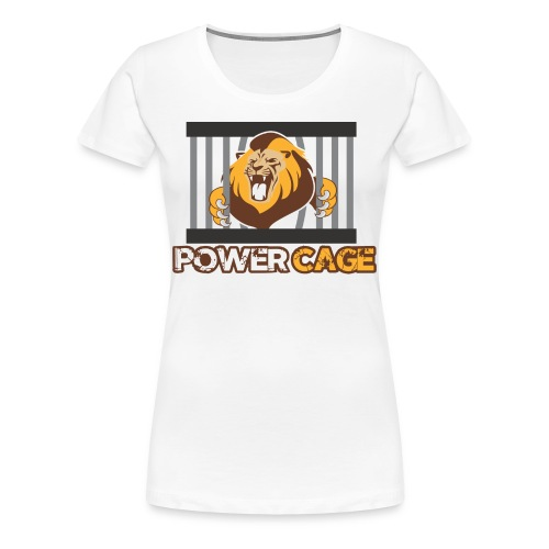 Power Cage Damen Shirt - Frauen Premium T-Shirt