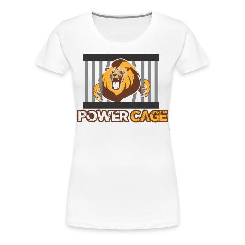 Power Cage Damen Shirt - Frauen Premium T-Shirt