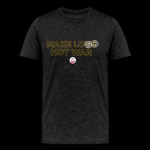 Make LOGO not WAR - Maglietta Premium da uomo