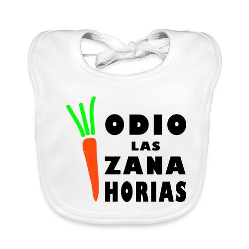 Odio las Zanahorias - Babero ecológico bebé