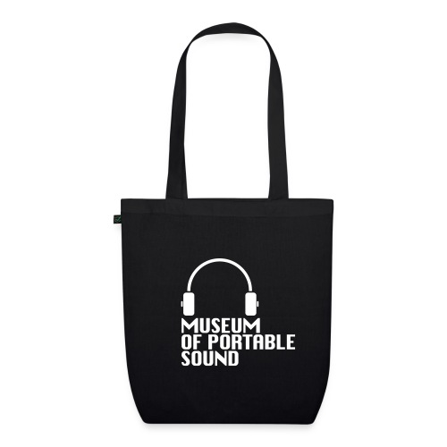 Museum of Portable Sound colourful canvas tote bag - EarthPositive Tote Bag
