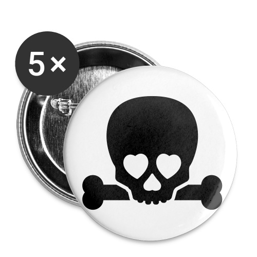 Maniac Badges - Buttons large 56 mm