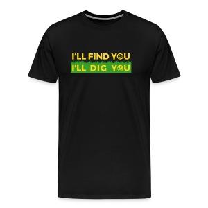 Schatzsucher - Männer Premium T-Shirt