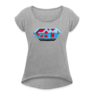Gamp - Women's T-shirt with rolled up sleeves