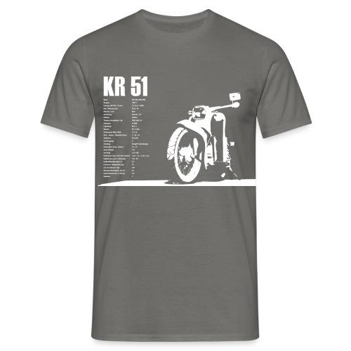 Simson Schwalbe KR-51 - Männer T-Shirt
