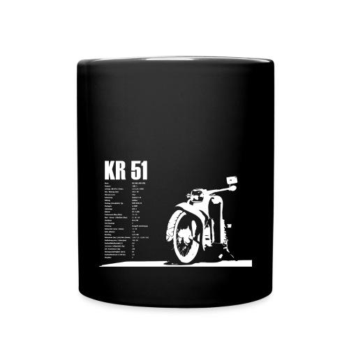 Simson Schwalbe KR-51 - Tasse einfarbig