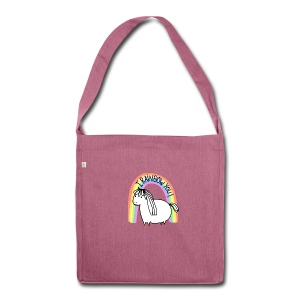 I Rainbow You! - Shoulder Bag made from recycled material