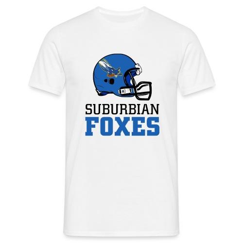 2017 Suburbian Foxes Männer T-Shirt Weiß - Männer T-Shirt
